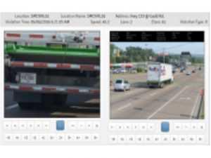 Oversize car screen shot